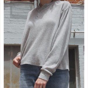 Brandy Melville Allie Thermal Long Sleeve